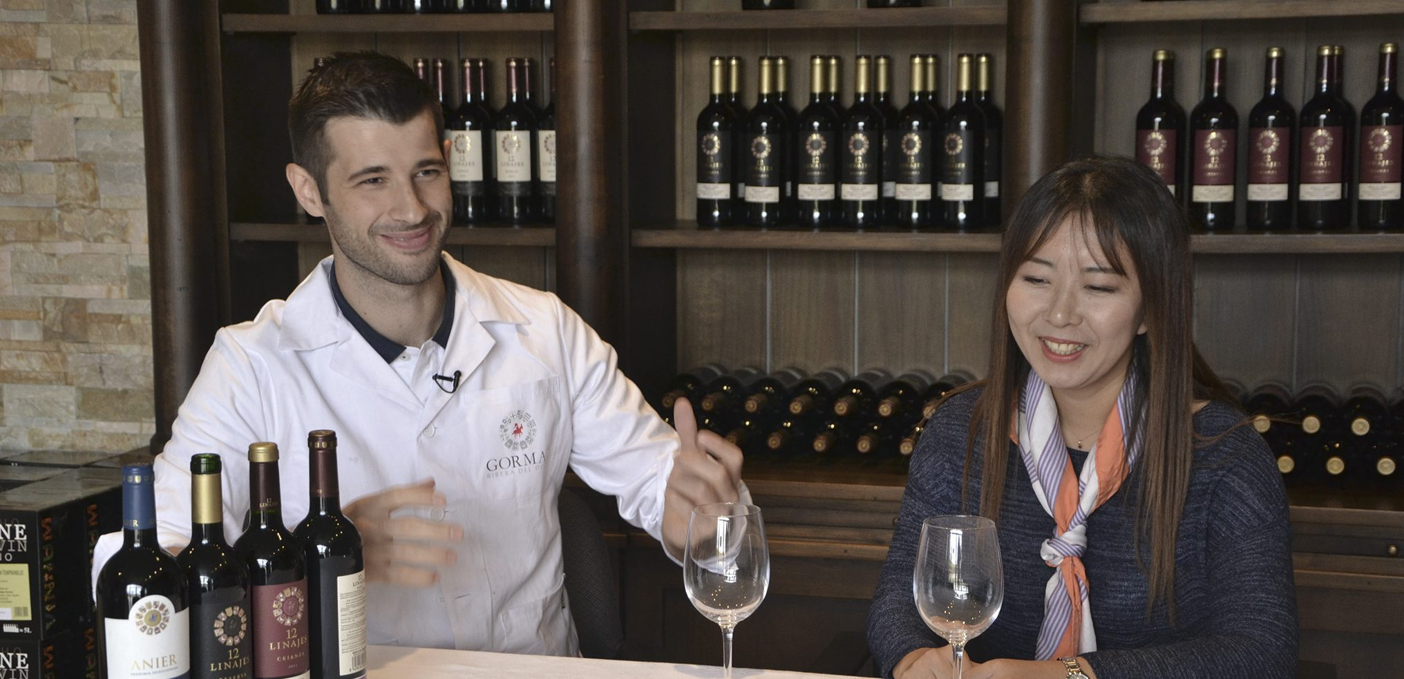 Our wines reach importance in the TV Chinese