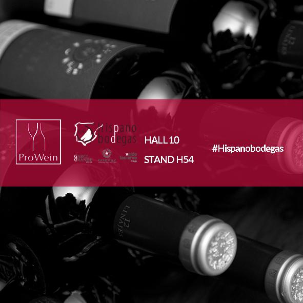 Hispanobodegas at Prowein 2018 presenting its wines Rioja, Ribera del Duero y Rueda.