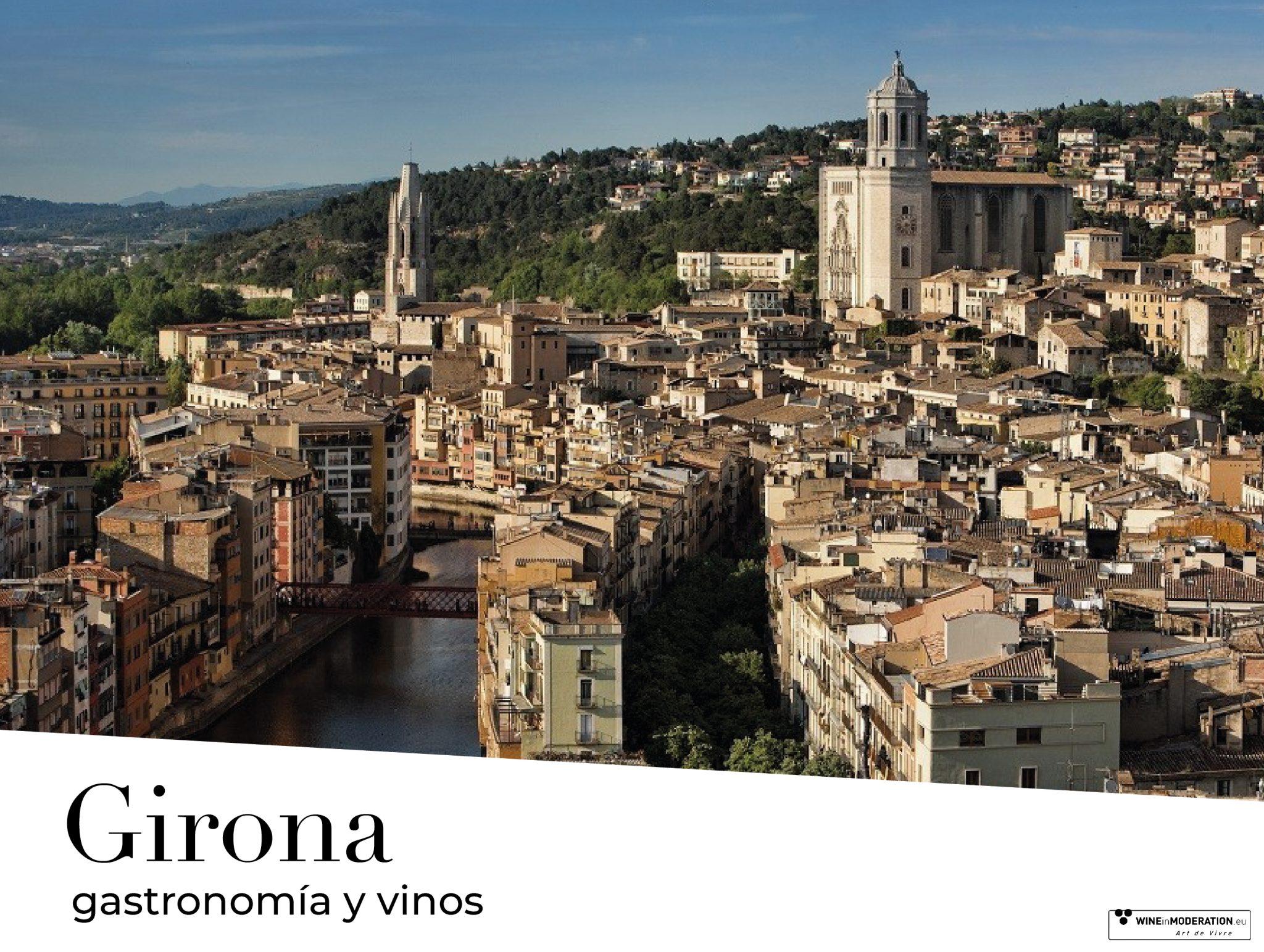 Gastronomía en Girona y vinos