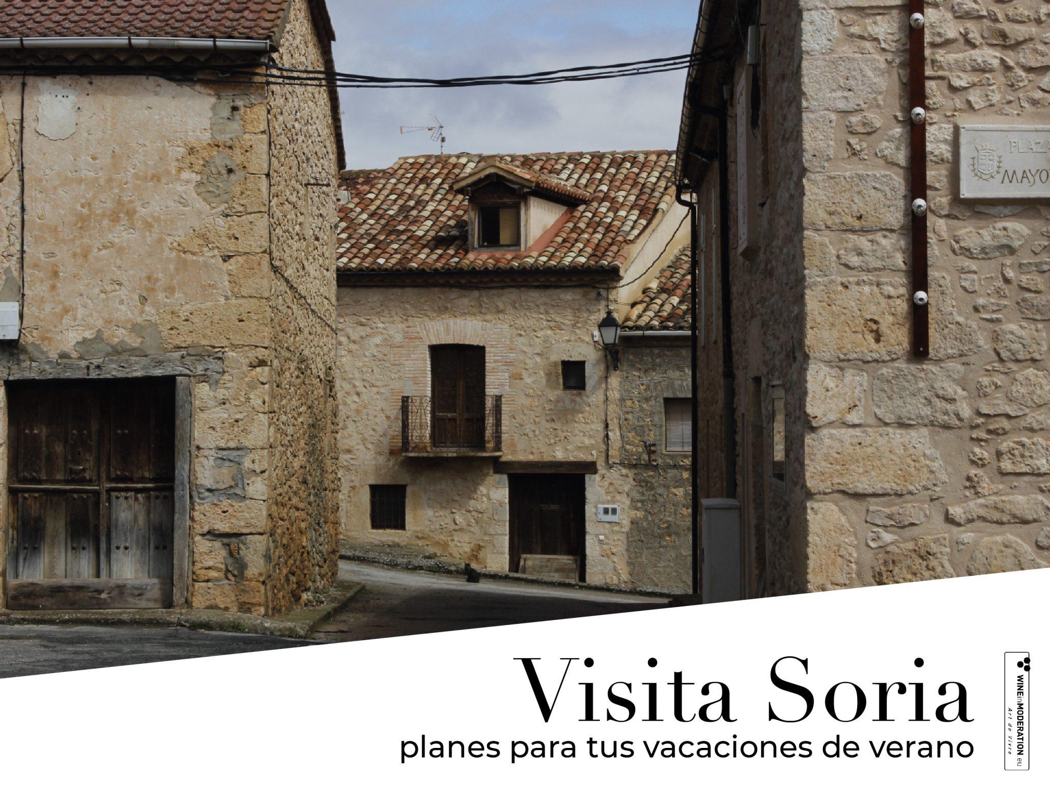 ¿Planeando tus vacaciones? Visita Soria