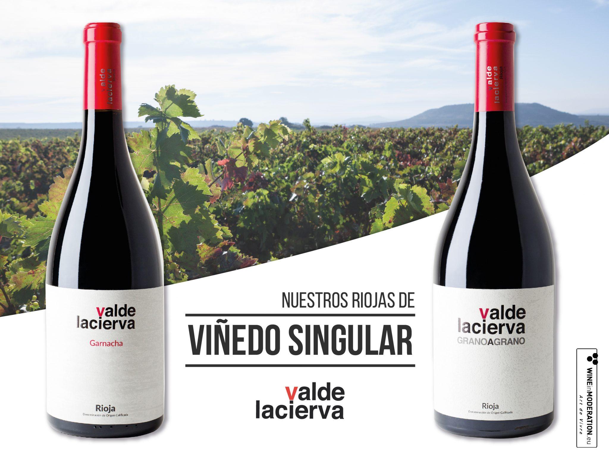 Valdelacierva Grano a Grano y Valdelacierva Garnacha son Viñedo Singular