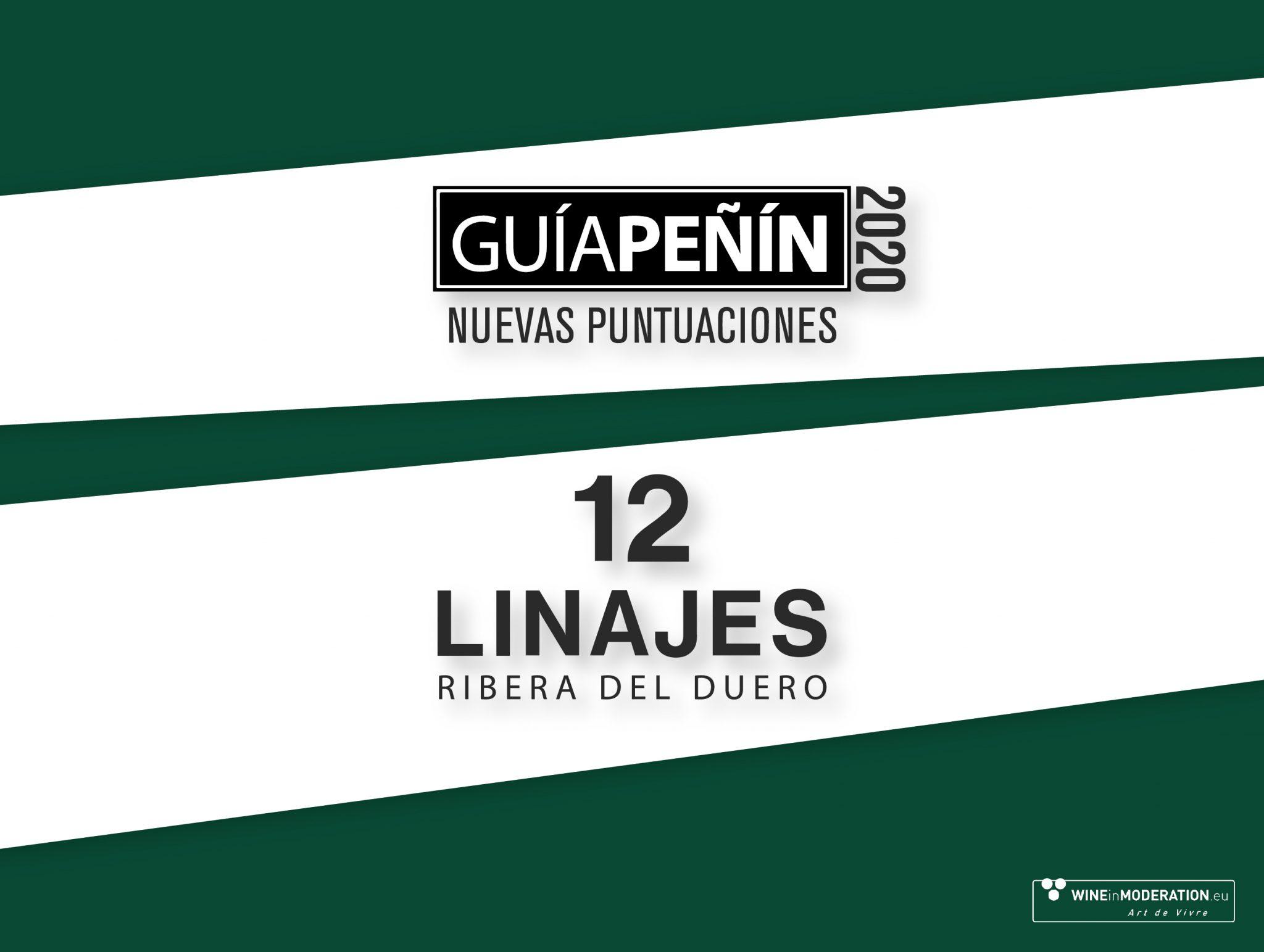 12 Linajes, la gama TOP de Guía Peñín 2020