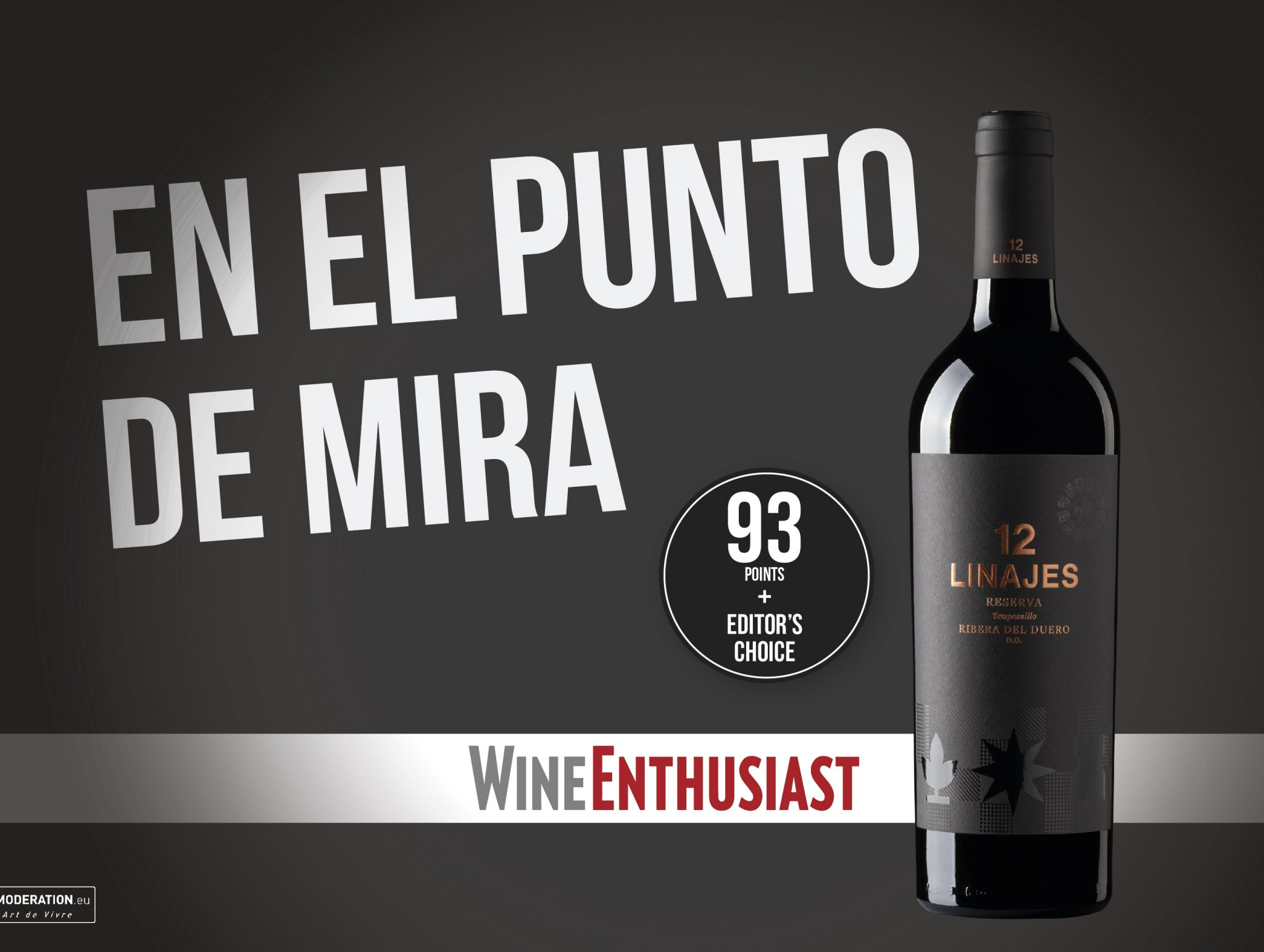 12 linajes Reserva, el vino TOP de la revista Wine Enthusiast