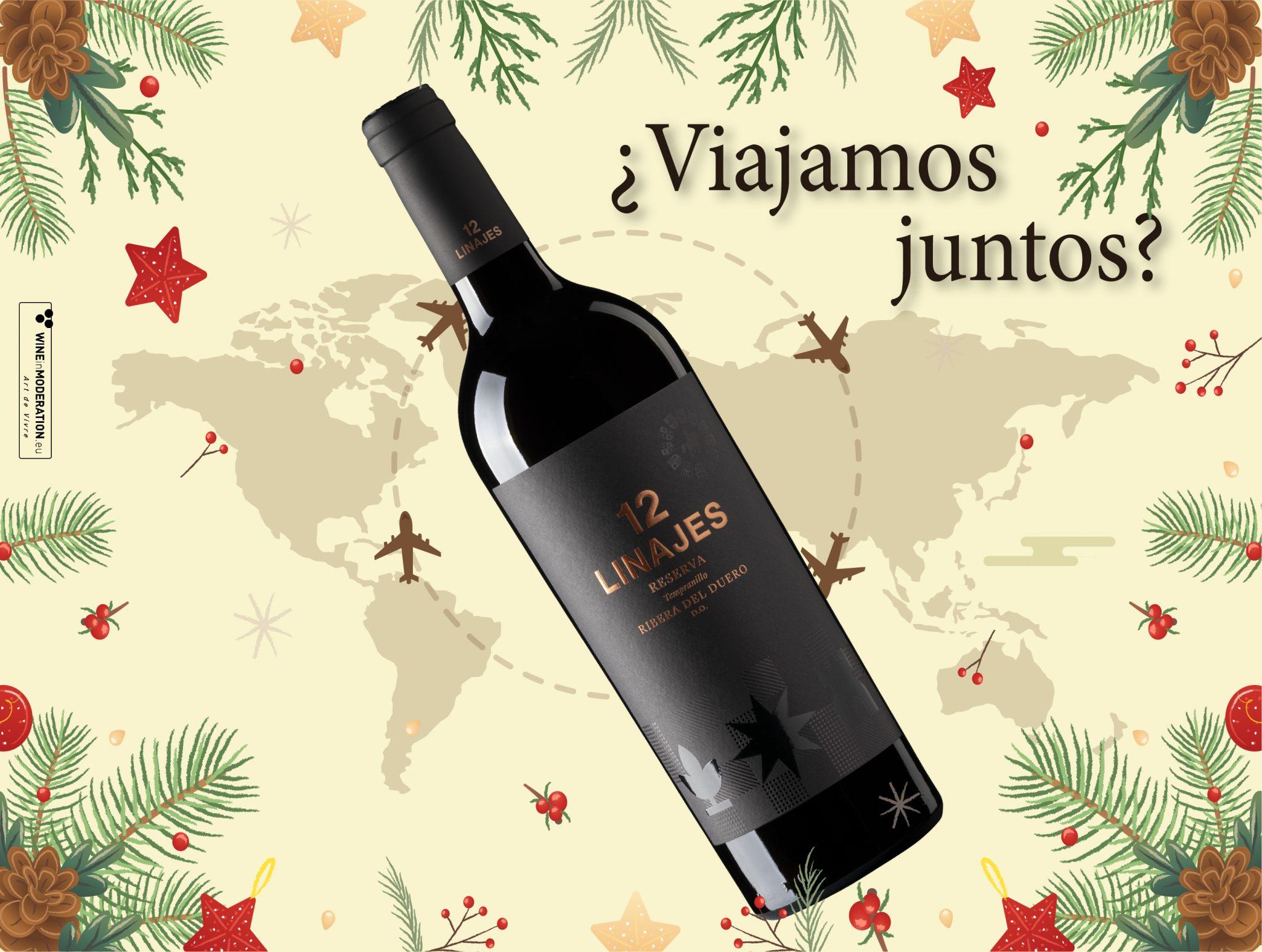 Seis vinos que maridan con una Navidad muy internacional