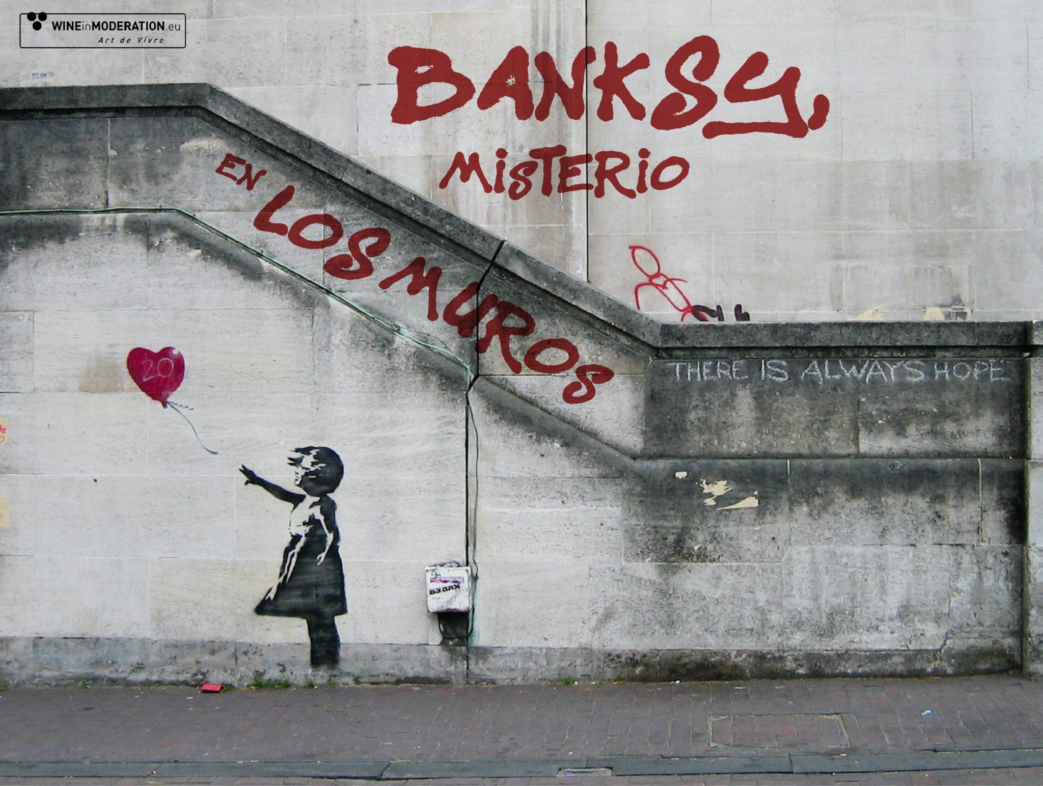 Banksy, misterio en los muros