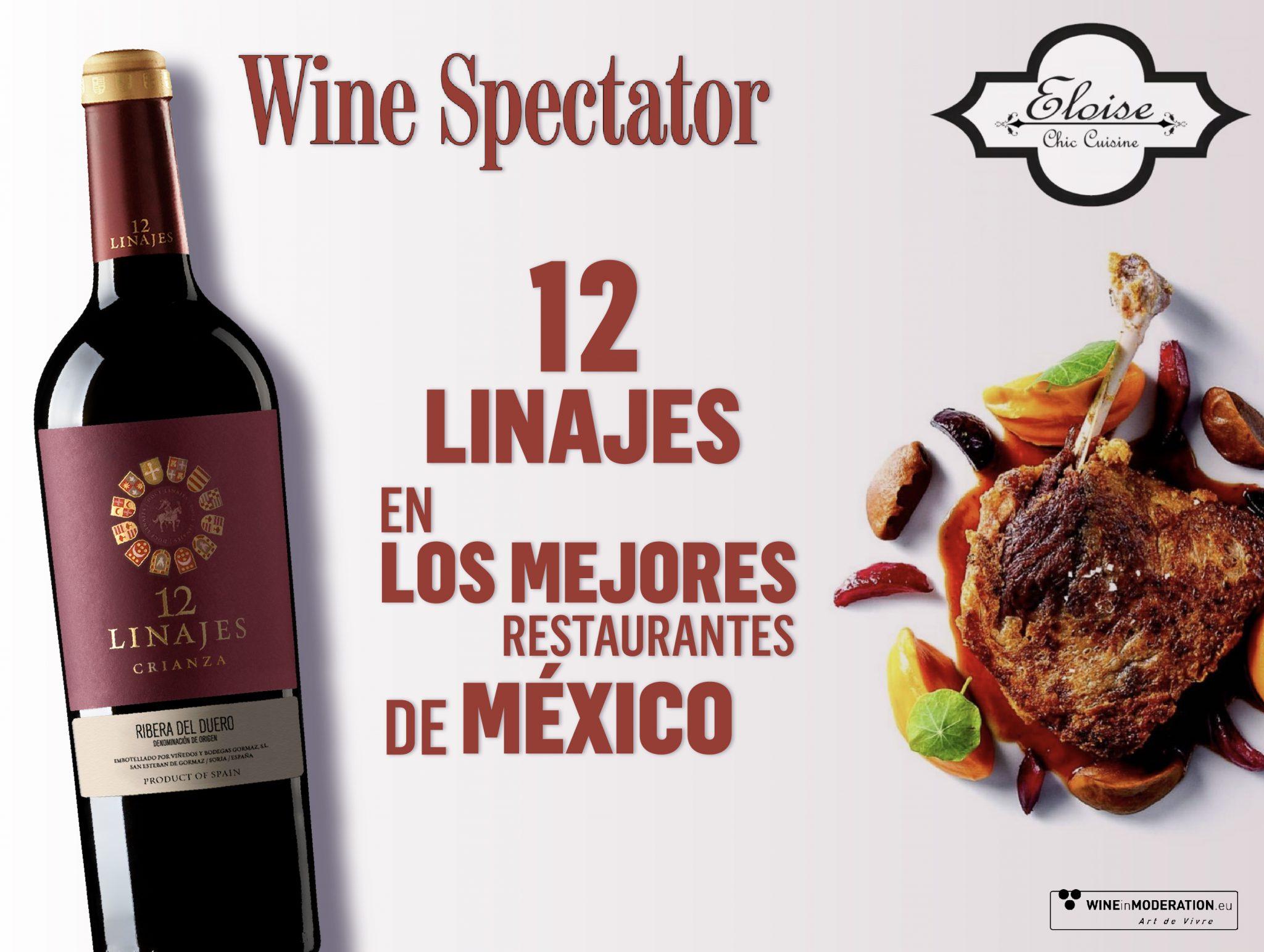 Los vinos de Hispanobodegas en los mejores restaurantes de México