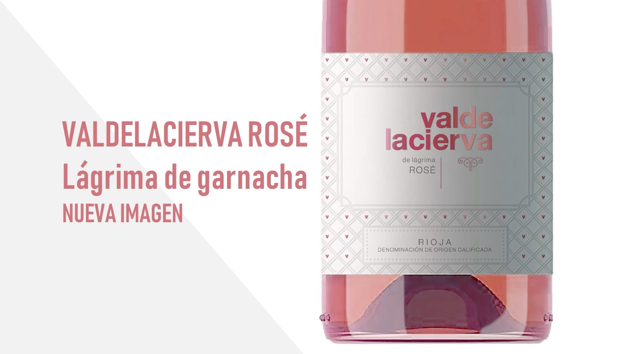 La nueva imagen de Valdelacierva Rosé
