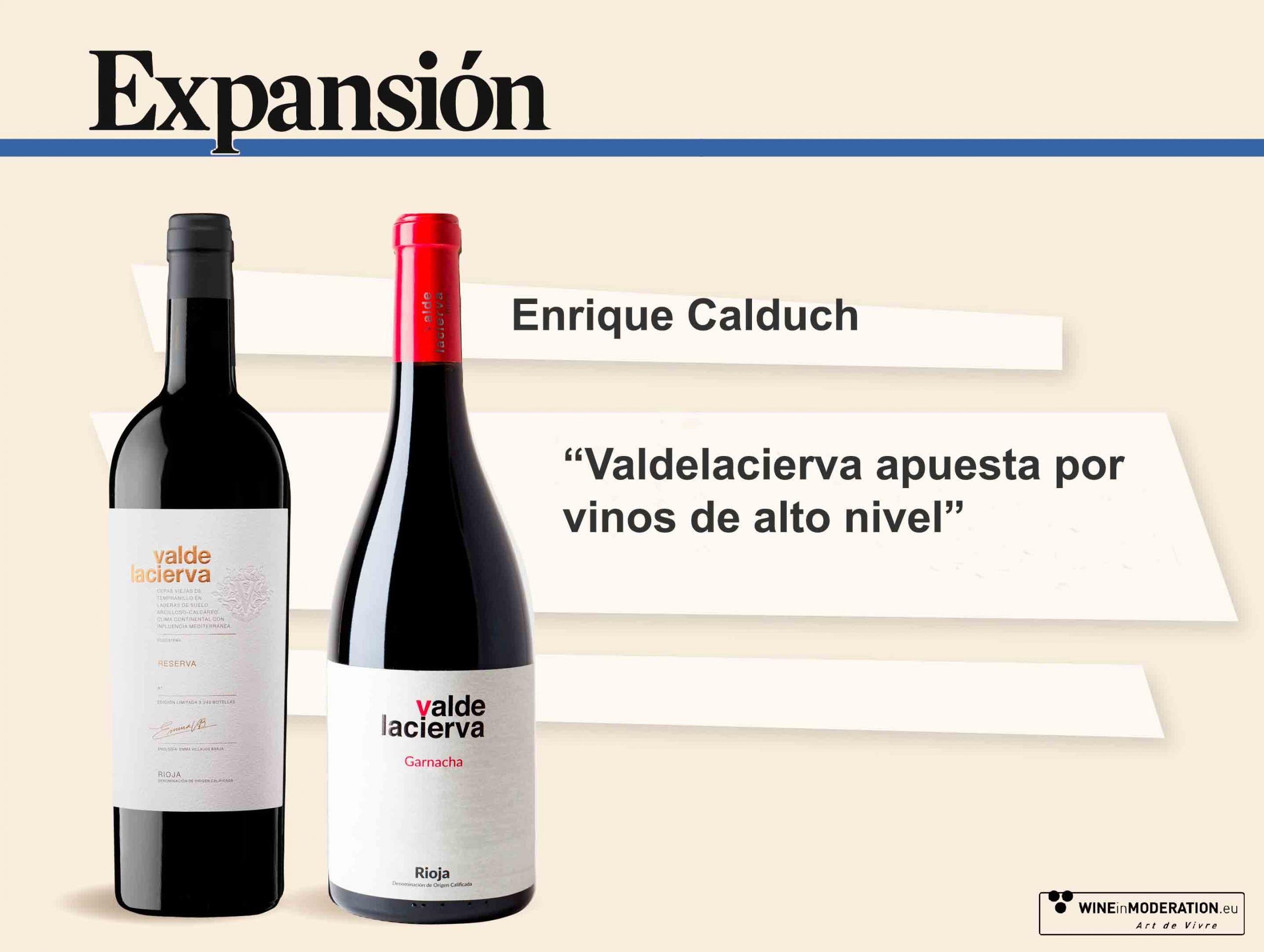 Valdelacierva en el diario Expansión